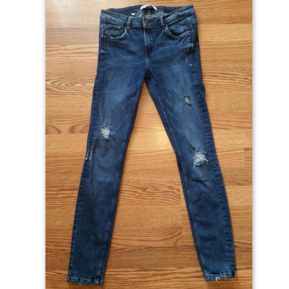 Zara Trafaluc Denim Skinny Jeans